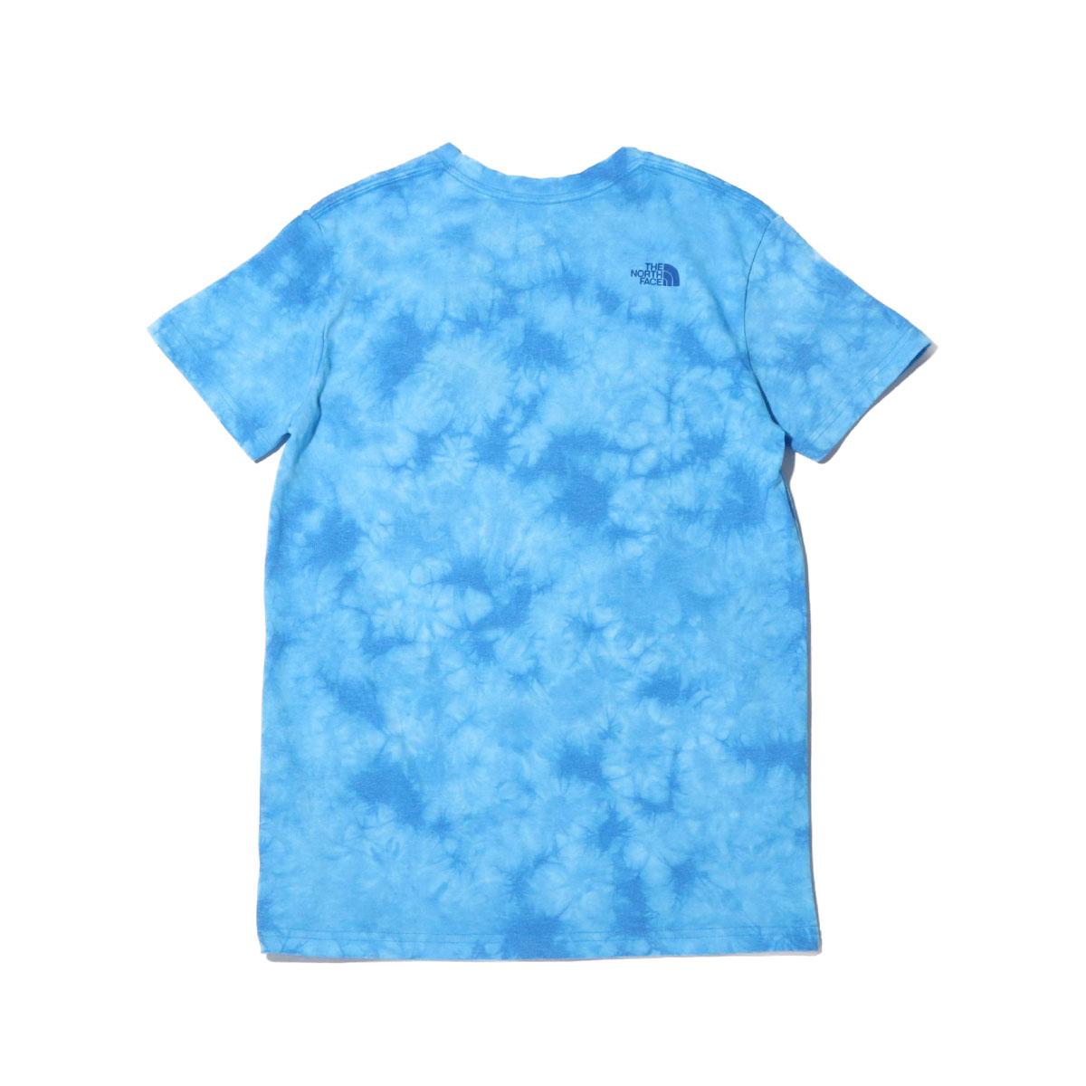 THE NORTH FACE S S TIE DYE TEE ザ・ノース・フェイス ショートスリーブ タイダイ ティー CLEAR LAKE BLUE レディース 半袖Tシャツ 20SS I354AcLSRjq