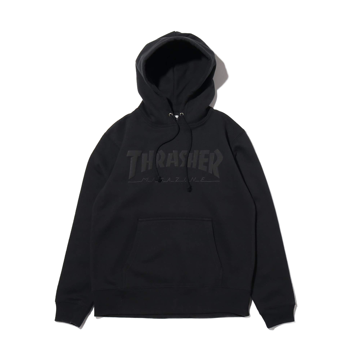 THRASHER Foaming HOMETOWN Pullover Hoodie(スラッシャー フォーミング ホームタウン プルオーバー フーディー)BLACK【メンズ パーカー】19HO-I
