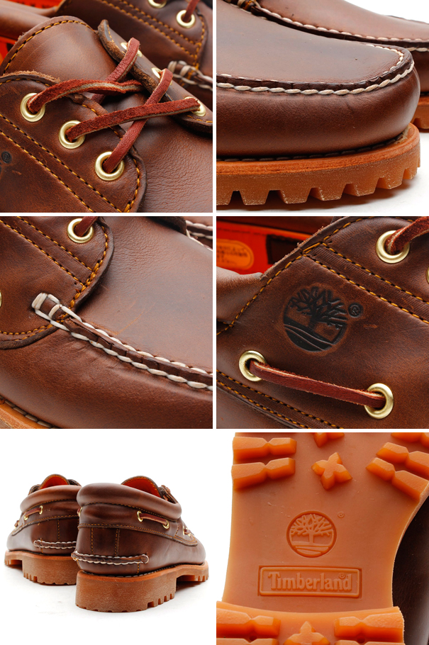 Timberland ICON 3-EYE CLASSIC LUG (icon Timberland 3 eye classic lug) BROWN PULL UP
