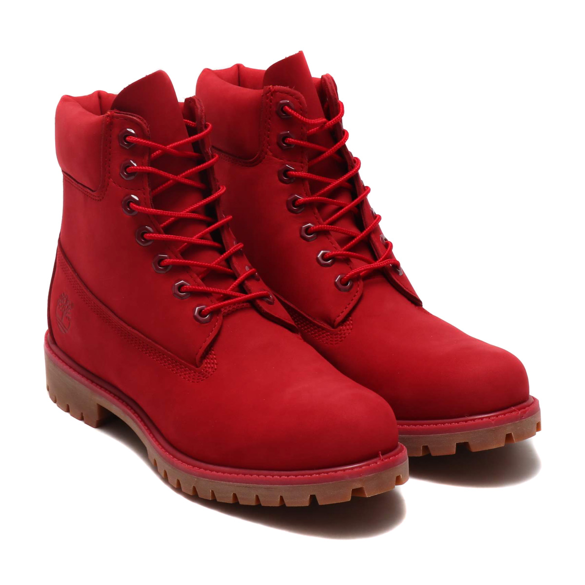 Timberland ICON 6 PREMIUM BOOT (icon Timberland 6 inch premium boots) RED