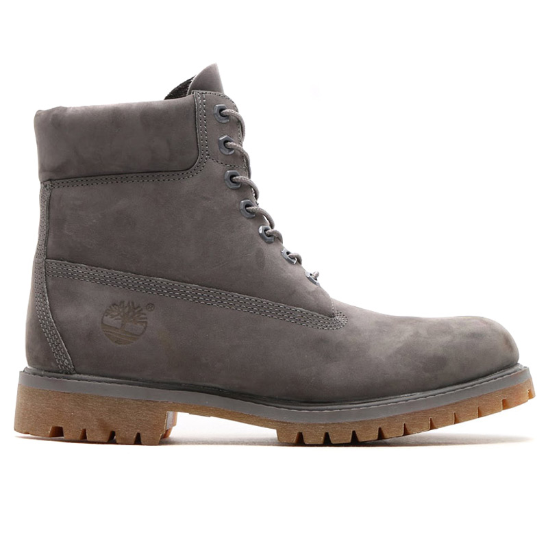 "8d9dd916c9 Timberland ICON 6 ""PREMIUM BOOT (icon Timberland 6 inch premium boots)  GREY ..."