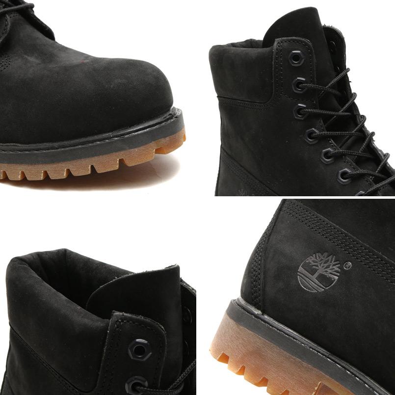 Timberland ICON 6 PREMIUM BOOT (icon Timberland 6 inch premium boots) BLACK