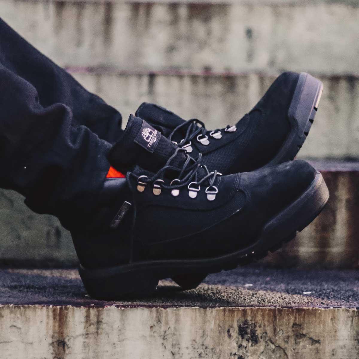 Timberland FIELD BOOT (ティンバーランド フィール ドブーツ)Black Nubuck【メンズ ブーツ】19SP-I
