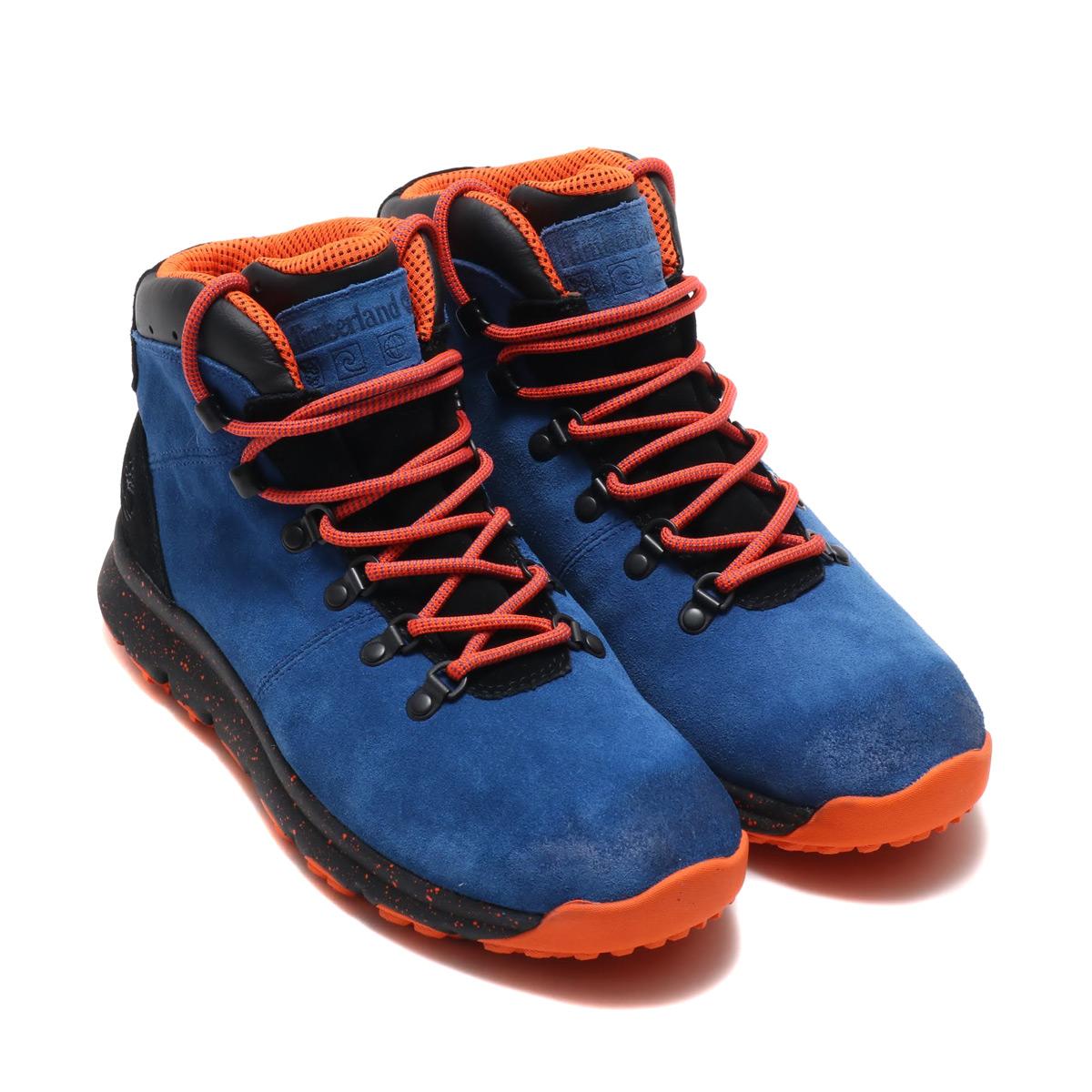 Timberland WORLD HIKER (ティンバーランド ワールド ハイカー)Medium Blue Suede【メンズ ブーツ】18FW-I