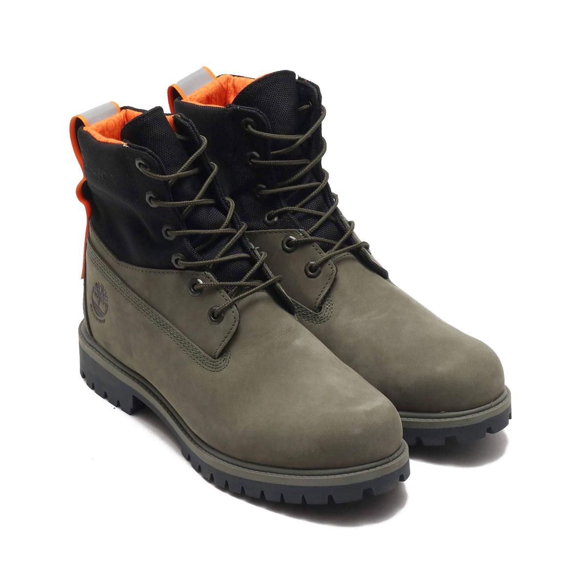Timberland 6in TREADLIGHT WP Boots(ティバンーランド 6インチ トレッドライト ウォータープルーフ ブーツ)Dark Green【メンズ ブーツ】20SS-S