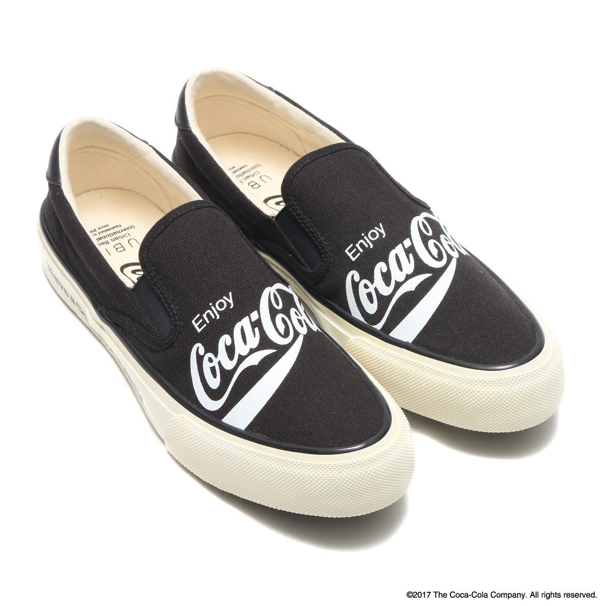 Coca-Cola by UBIQ HOGGE(コカ・コーラ バイ ユービック ホッジ)BLACK【メンズ レディース スニーカー】17FW-S