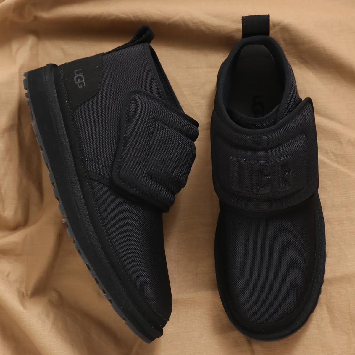 UGG Neumel Molded Logo(アグ ニューメル アグモルデッド ロゴ)BLACK【メンズ ブーツ】20SS-I