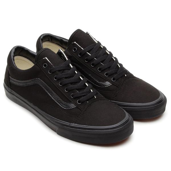 black on black vans