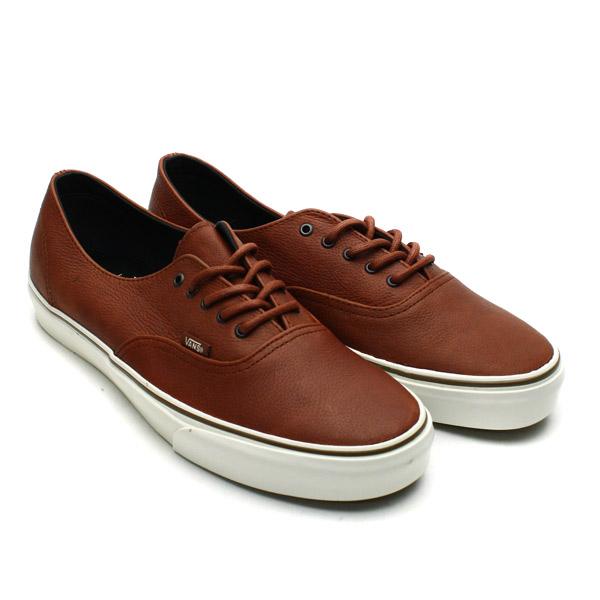 vans authentic brown