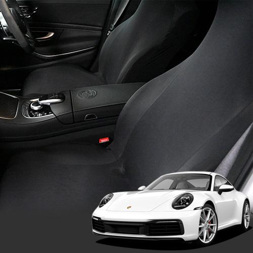 【今だけP14倍】 レザーシートを傷や汚れから守るおすすめシートカバー キックガード機能付き純正を超えるフィット感 抗菌 洗濯 運転席 助手席 Dr.カバー ポルシェ 911 The new 911 Carrera Cabriolet 4 S 4S Speedster GT2 GT3 RS Lot-NA03