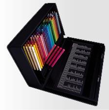 珍しい 三菱ユニカラー 色鉛筆 100色セット, ラナイブルー 3be746cc