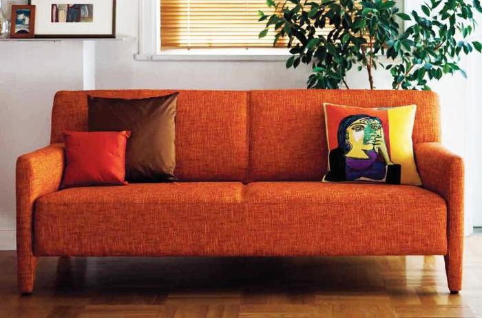L8400S リビングチェア 3人掛椅子 張地 Fabrics B