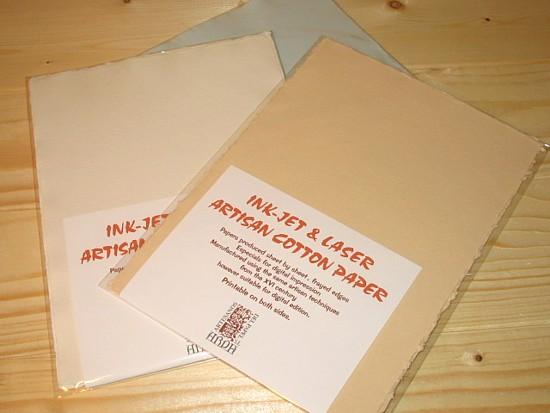 ARPA COTTON CARD PAPER A5 알파 소프트 코 튼 카드 종이 A5 크기