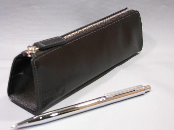 At N Nagasaka Ltd Pen Case White Black Craft Design And