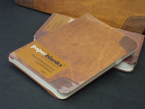 paperblanks paperblanks antique leather style back pocket Flexi mini