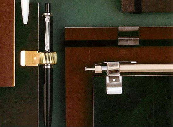 Midori 미니 클립 펜 홀더 (스프링 홀더/클립 식)