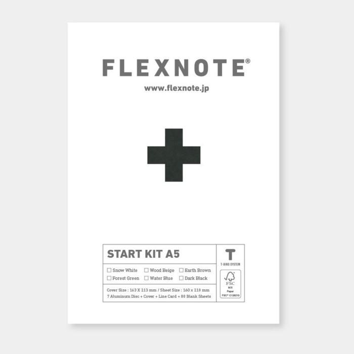 FLEXNOTE - START KIT A5 flextime notebook start kit A5 size