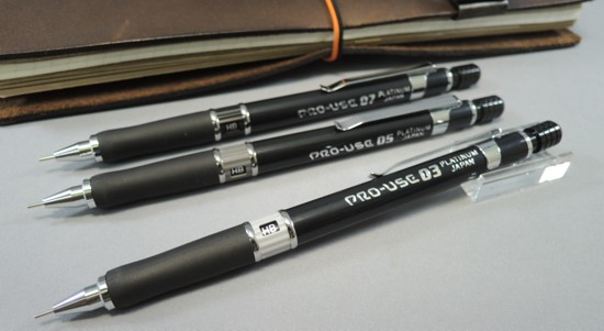 Platinum for drafting mechanical pencil MSD-500 PRO-USE (03 / 05 / 07)