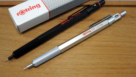 Rotring 600» 600 mechanical pencils