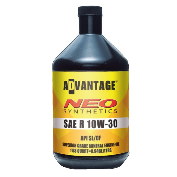 今ならP5倍 エンジンオイル アドバンテージネオ SAE R 10W-30 API SL/CF 鉱物油油 5US GALLON(18.92L)
