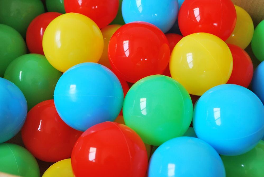 ボールプール用ボール(4色)500個入り