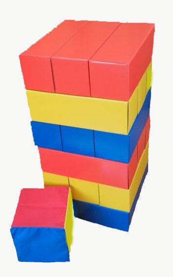 大型ブロックバランスゲーム