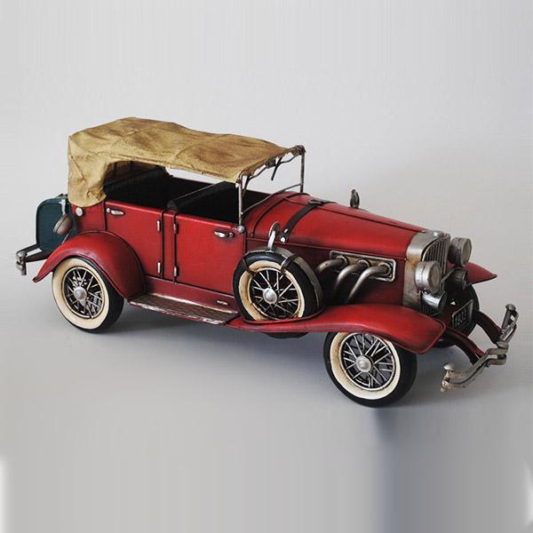 オブジェ インテリア 置物 ブリキ レトロ おしゃれ ディスプレイ 模型 ブリキのおもちゃB-クルマ01 車 プレゼント アンティーク調 カフェ 置き物 店舗 おもちゃ 車のおもちゃ 書斎 コレクション ディスプレイ