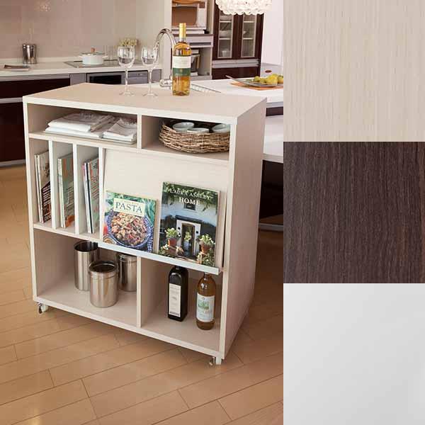 Display Rack With Casters Partition Nordic Storage Furniture Flap Door  Bookshelf With Doors Shelf Wagon Ornament ...