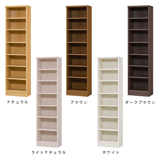 Bookshelf Flat Slim Fashionable Wooden Nordic Display Rack Shelf Documents Bookcase