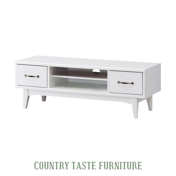 Tv Stand White Lowboard House Fixture Nordic Units Fashionable Av Storage Width