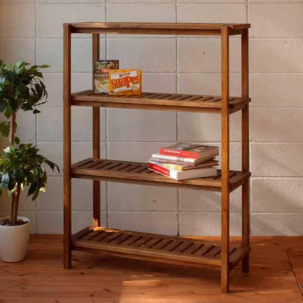 Display racks rack wooden open rack form shelf multipurpose shelf rack  display shelves bookcase thin Scandinavian width 90 height 125 wall storage  book ...