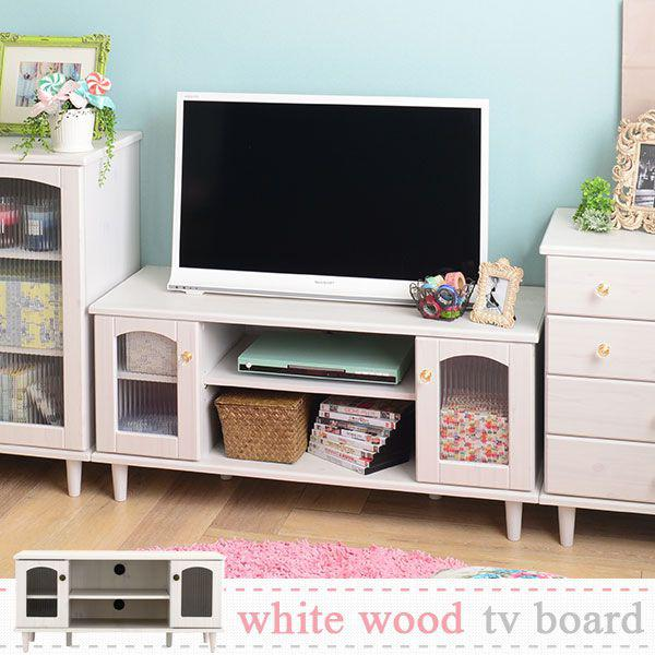 TV Stand Lowboard White White 32 Antique Make 32 Inch White House Fixture  Snack