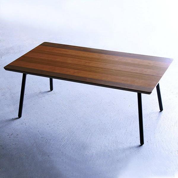 折りたたみ ローテーブル 折りたたみテーブル 長方形 テーブル 木製テーブル 木製机 スチール ロータイプ 低め 机 フォールディングテーブル センターテーブル 木目 木製 北欧 ミッドセンチュリー モダン シンプル コンパクト おしゃれ 完成品 幅90 インテリア