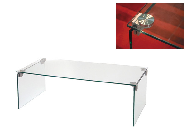 Simple Low Table Centre Table Coffee Table Glass Table Model Room Table  Living Table 110 Width 110 Cm JU 116 Salone Del Mobile Glass Table Family  Hotel Cafe ...