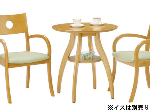 ローテーブル カフェテーブル サイドテーブル ダイニングテーブル 幅65cm アジャスター ナチュラルカラー コーヒーテーブル 丸テーブル 木製カフェテーブル カフェ レストテーブル 通販 インテリア 業務用 カフェスペース ナチュラルモダン シンプル シンプル 店舗 おすすめ