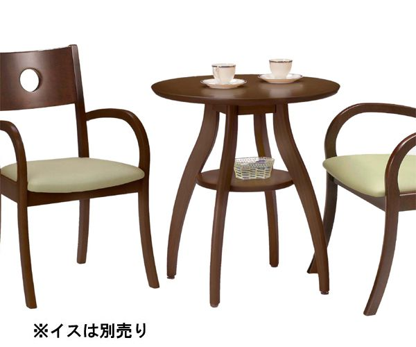 Marvelous Cafe Table Tea Table Dining Table Side Table Round Table Dressing Width 65  Cm Round Dark