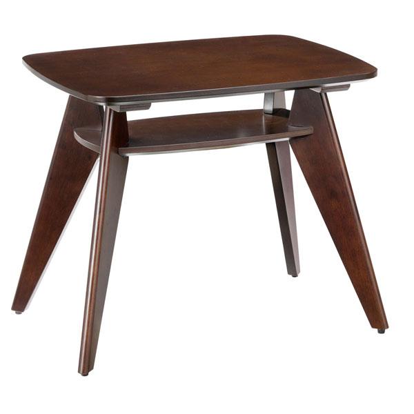 ローテーブル カフェテーブル サイドテーブル 木製テーブル 棚(ラック)付き テーブルのみ 通販 デザイン家具 モダン カフェスペース おすすめ 幅60 奥行き45 ナチュラル カジュアル ダイニングテーブル 高さ50 店舗 ダークブラウン ロータイプ おしゃれ 業務用 作業台