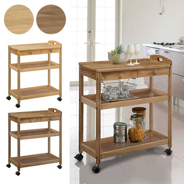 Delicieux Recommended Kitchen Trolley Castors Side Wagon Side Table Kitchen Storage  Kitchen Rack Wagon Caster Antique Kitchen Living Wooden Retro Slim Cart  Shelf Open ...