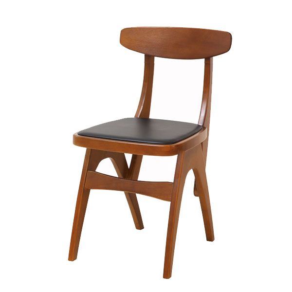 ダイニングチェアー 背もたれ付 パソコンチェアー 木製 ウォールナット 背もたれ 学習 アンティーク調 1人掛け 新生活 おしゃれ ダイニングチェア シンプル コンパクトき 学習椅子 椅子 食卓椅子 合成皮革 ミッドセンチュリー デスクチェア 子供部屋 カフェ インテリア