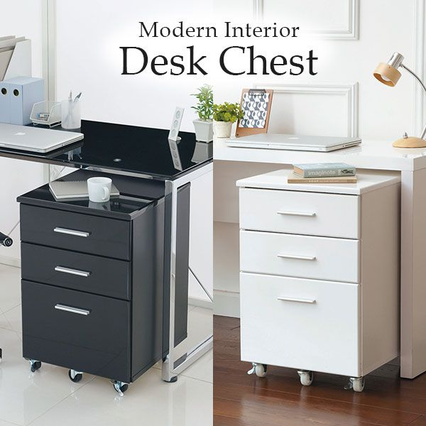 Desk Wagon Chest Side Learning Stylish 3 Stage