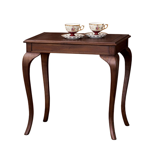 テーブル 四角 おしゃれ 木製 喫茶店 猫脚 コーヒーテーブル ナイトテーブル 机 レトロ インテリア コンソールテーブル モダン ティータイム デスク カフェテーブル 優雅 ティーテーブル アンティーク 一人暮らし サイドテーブル コンパクト