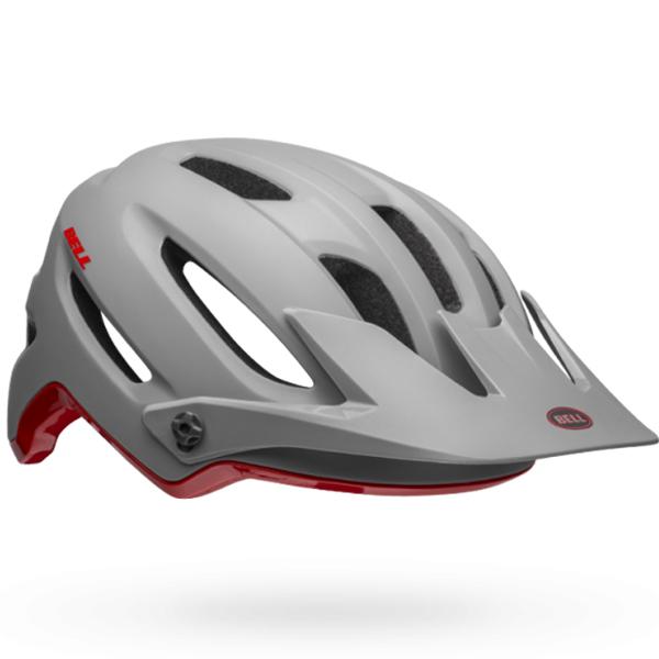 BELL ベル ヘルメット 4フォーティー ミップス BELL 4 FORTY MIPS XLサイズ(61-65cm) 7103327 グレー/クリムゾン