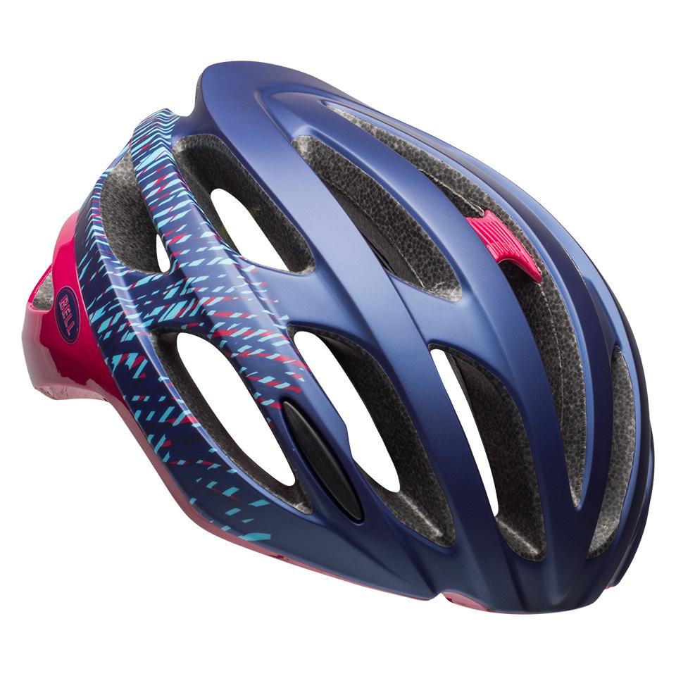 ベル ロードバイク ヘルメット ファルコン ミップス BELL FALCON Mips マットネイビー/チェリーファイバー Sサイズ(52-56cm) 7088394