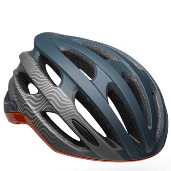 ベル ロードバイク ヘルメット フォーミュラ ミップス BELL FOMULA Mips スレート/グレー/オレンジ Lサイズ(58-62cm) 7100933