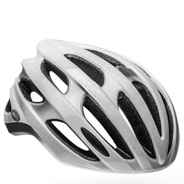ベル ロードバイク ヘルメット フォーミュラ ミップス BELL FOMULA Mips マットホワイト/シルバー Lサイズ(58-62cm) 7088546