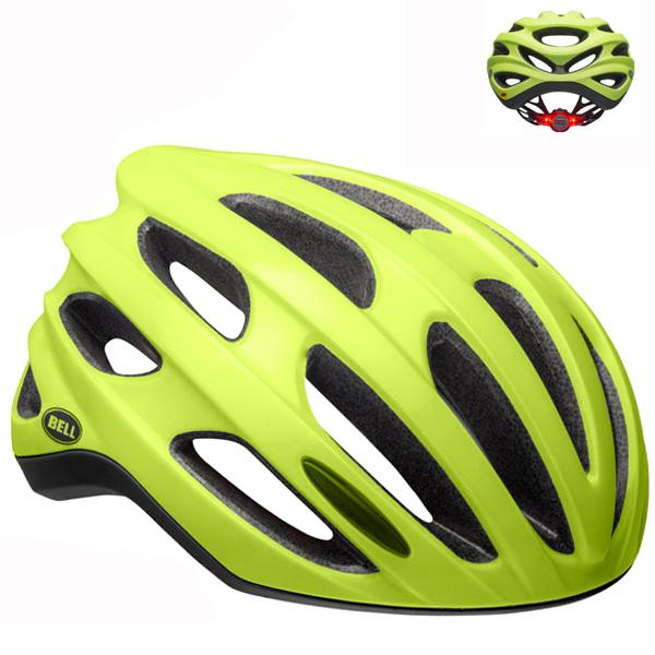 ベル ロードバイク ヘルメット フォーミュラ LED BELL FOMULA LED マットグリーン Lサイズ(58-62cm) 7104376