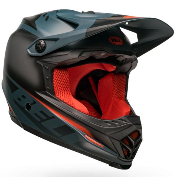 ベル フルフェイス ヘルメット フル 9 BELL FULL 9 フュージョン ミップス マット スレート/オレンジ Mサイズ(55-57cm) 7105085