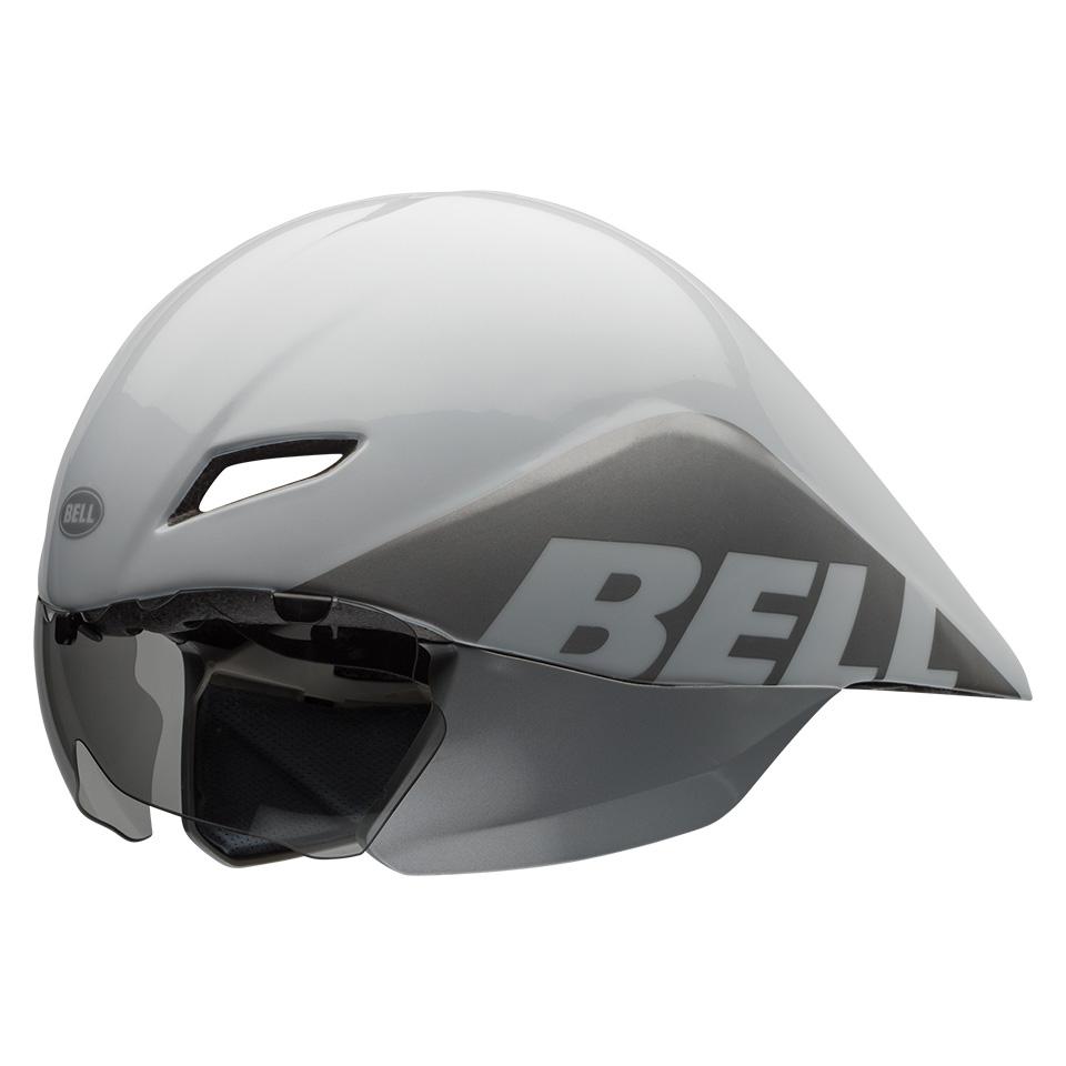 ベル エアロ ヘルメット ジャベリン BELL JAVELIN ホワイト/シルバー Lサイズ(59-63cm) 7066053