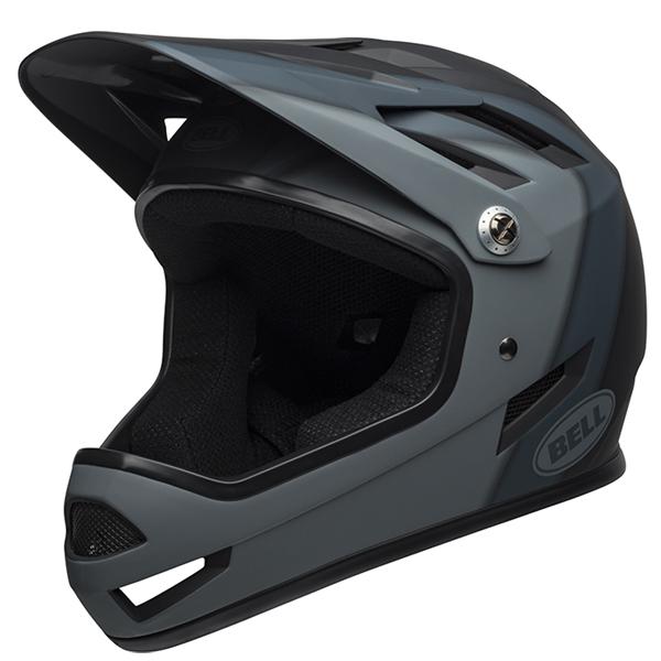 ベル BMX フルフェイス ヘルメット サンクション BELL SANCTION マット ブラック プレゼンス Sサイズ(52-54cm) 7100132