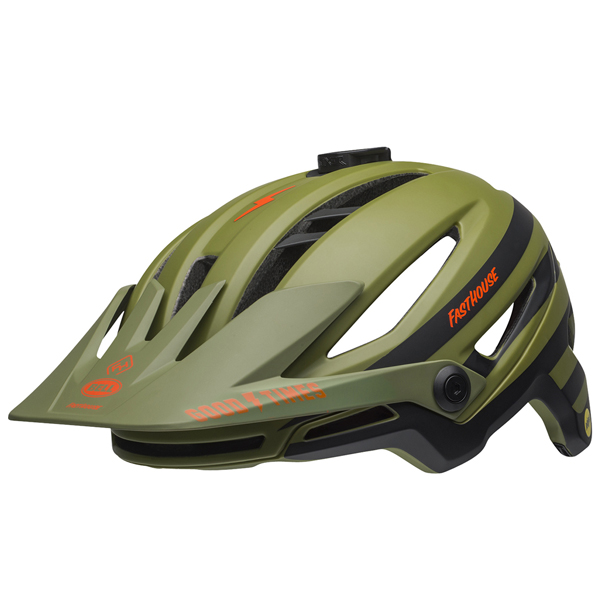 ベル ヘルメット シクサー ミップス BELL SIXER Mips ファストハウス マットグリーンオレンジ Lサイズ(58-62cm) 7096029